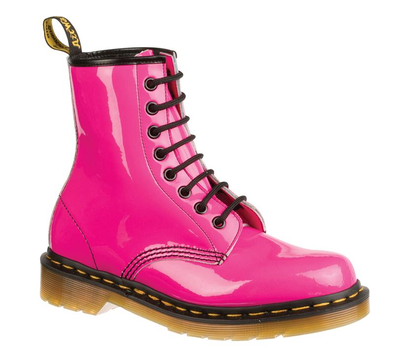 Patent Lamper Hot Pink Boots